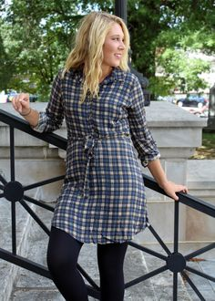 Shirtdresses are some of our favorite fall fashions!