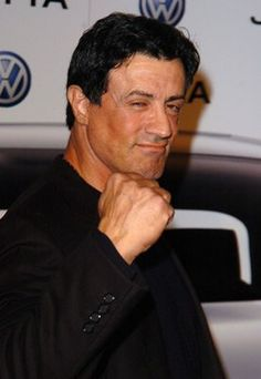 Sylvester Stallone - my All-Time Fave. The kiddos are already Rocky and Over the Top fans. You can never have too much of the Italian Stallion ;)