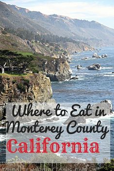 Along the Pacific Coast Highway you will find Monterey County, California- an incredible area with amazing views and fresh food. Check out this guide on Where to Eat in Monterey County, California