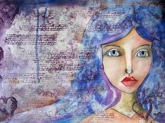 Buy Blue Eyes, Drawing by Riana van Staden on Artfinder. Discover thousands of other original paintings, prints, sculptures and photography from independent artists. Original Art, Original Paintings, Watercolor And Ink, Paintings For Sale, Pencil Drawings, Blue Eyes, Buy Art, Paper Art, Fantasy Art