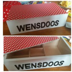 Wensdoos, groep1/2,  diy, july 2015, Wish box, kindergarten