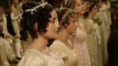 """Elizabeth dancing a set with Mr Darcy at the Netherfield Ball - """"Pride and Prejudice"""" 1995"""