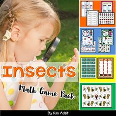 Your buggy bunch will learn while they play when you use these games. This packet contains 5 different kinds of math games! The games teach measurement, counting, more and less, numberline, and fair share. Your buggy bunch will be sure to fly when they play these games.