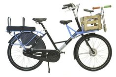 """WorkCycles Fr8 (as family bike).  My kids are too big now...just wondering if the family pooch could learn to ride on that """"jump seat."""""""