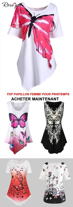 Haut Femmes Taille 44 46 48 50 grande taille Chemise Shirts Tank Tops Motif Floral 57