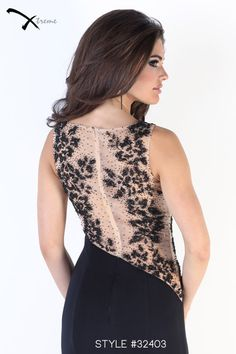 Xtreme Prom 2014 Collection style #32403 #prom #dress #illusionback