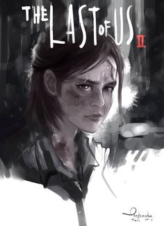 ArtStation - Ellie The Last of Us 2, Purplewurks Faiz