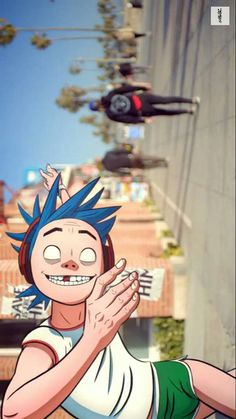 Read 》Humility《 from the story Fotos de by A_place_with_no_name (✧ ᴾᵒʳᵒᵗᵒ ✧) with 407 reads. Mc Bess, Gorillaz 2 D, Jamie Hewlett Art, Fan Art, Film Serie, Cultura Pop, Cool Bands, Music Artists, Sunshine In A Bag