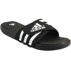 359cbc57b5ec38 Adidas Adissage Cf Slide Sandals - Mens Black White Mens Slide Sandals