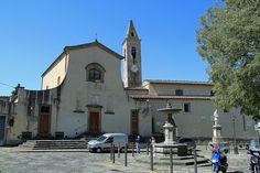 Settignano: piazza Niccolò Tommaseo e Chiesa di Santa Maria a Settignano <3