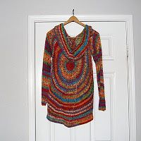 The Laughing Willow: A different version of the pinwheel sweater ~ free pattern