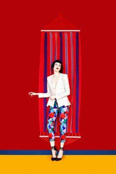 Fashion Photography: Etro Spring Summer 2013 by Erik Madigan Heck Foto Fashion, Fashion Art, Editorial Fashion, Fashion Beauty, Womens Fashion, Fashion Design, Fashion Textiles, Color Photography, Editorial Photography