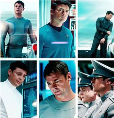 Doctor Leonard H. McCoy and his many awesome outfits! » Karl Urban  @Erika Bigler