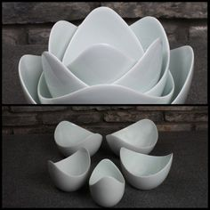 Lotus Bowls from Spin Ceramics
