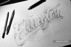The Sketch Collection Vol01 by Marcelo Schultz, via Behance