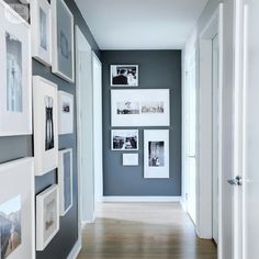 24 Making the Best of Hallway Decorating Best of Narrow Hallway - Dekoration Ideen Hallway Colours, Hallway Paint, New Homes, Home Decor, Apartment Decor, Hallway Wall Decor, Trending Decor, Small Hallways, Apartment Decorating On A Budget