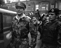 General Sir Robert Ford, Britain's Commander of Land Forces in Northern Ireland, pictured on July in Belfast. Northern Ireland Troubles, Special Air Service, British Armed Forces, British Government, White Belt, Military Police, British Army, Belfast, Military History
