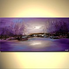 Buy beautiful landscape paintings, modern landscape paintings, canvas art and contemporary artworks. Colorful paintings of forests, trees, cloudy skies and other modern art. Choose your favorite landscape painting. Abstract Nature, Abstract Wall Art, Canvas Painting Landscape, Cityscape Art, Canvas Art Prints, Decoration, Fine Art, Art Paintings, Decorative Paintings