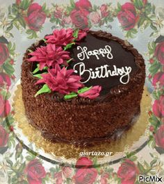 Chocolate Floral Cake Gif birthday happy birthday birthday quotes happy birthday quotes birthday wishes birthday gifs birthday images birthday image quotes happy birthday animation birthday animation Birthday Cake Quotes, Birthday Cake Gif, Happy Birthday Cake Photo, Happy Birthday Cake Pictures, Birthday Cake Writing, Birthday Cake Write Name, Birthday Images, Funny Birthday, Happy Birthday Didi