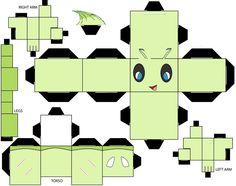 Pokemon Meteor: Paper Cube                                                                                                                                                                                 Mais