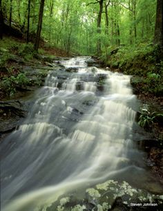 Giant City State Park - Stone Fort Cascade always good times <3 i miss so ill !