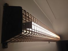 Cage LED wall lights
