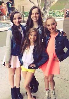 Kendall, Payton, Maddie & Mackenzie