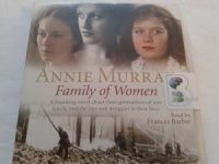 Family of Women written by Annie Murray performed by Frances Barber on CD (Abridged)