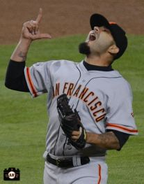 #ThatsWhatsUp - Sergio Romo earns his 1st save of 2013 against the Dodgers (April 2nd) #BeatLA #SFGiants