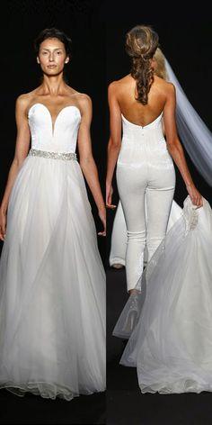 9199d22dd1ab Trend 2019  27 Wedding Pantsuit   Jumpsuit Ideas