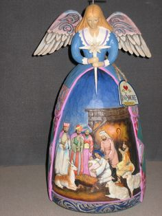 I almost got this Jim Shore Christmas angel at The Morgan House, but got a different one instead.