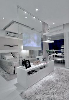 @wattpad.com Violets are Blue Home Room Design, Dream Home Design, Modern House Design, Home Interior Design, Interior Ideas, Grey Bedroom Design, Interior Plants, Interior Lighting, Luxury Homes Dream Houses
