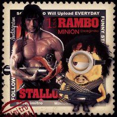 Action Movie Minions - Rambo Minion