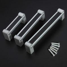 Aleación de aluminio mando tirador mueble de estilo minimalista negro