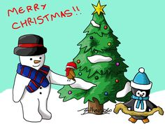 Merry Christmas!! by S-Phoenix.deviantart.com on @DeviantArt
