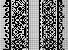 Beading _ Pattern - Motif / Earrings / Band ___ Square Sttich or Bead Loomwork ___ Gallery. Blackwork Embroidery, Cross Stitch Embroidery, Cross Stitch Samplers, Cross Stitching, Loom Beading, Beading Patterns, Machine Embroidery Patterns, Knitting Patterns, Cross Stitch Designs