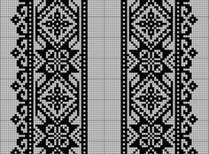 Beading _ Pattern - Motif / Earrings / Band ___ Square Sttich or Bead Loomwork ___ Gallery. Blackwork Embroidery, Cross Stitch Embroidery, Ribbon Embroidery, Cross Stitch Samplers, Cross Stitching, Cross Stitch Designs, Cross Stitch Patterns, Russian Cross Stitch, Free Crochet Doily Patterns