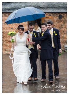 Wethele Manor Wedding Photography Rain