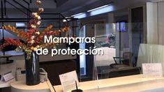 Mamparas metacrilato, pantallas protectoras Reception Areas, Divider Screen, Screens, Mesas