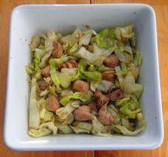 HCG Diet P2 Chicken Cabbage Stir Fry