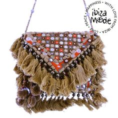 Gado Gado Bag Goa camel mirror - Ibiza Fashion
