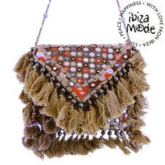 Gado Gado Bag Goa camel mirror - Ibiza Fashion