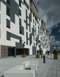63 Dwellings in Arkayate, Vitoria, Álava, Spain by Patxi Cortazar Architects