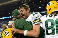Last minute victory over the Lions. Hall Mary to Richard Rodgers 12.3.15