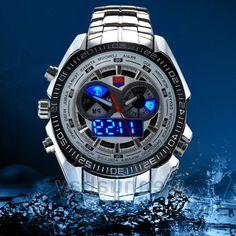 32.99$  Watch here - https://alitems.com/g/1e8d114494b01f4c715516525dc3e8/?i=5&ulp=https%3A%2F%2Fwww.aliexpress.com%2Fitem%2FWaterproof-TVG-Blue-LED-Quartz-Watch-Silver-Band-Diving-Mens-Sports-with-Box-Mens-Gift%2F32661311870.html - Waterproof TVG Blue LED Quartz Watch Silver Band Diving Mens Sports with Box Mens Gift