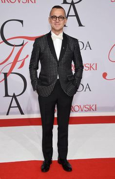 Steven Kolb at the 2015 CFDA Fashion Awards. See all the looks from the night.