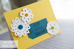 flowers tag get well soon card