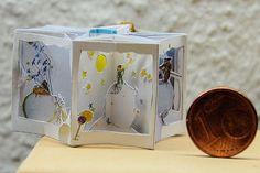1/12 miniature pop-up book Der Kleine Prinz. $73.00, via Etsy.  I really, really, REALLY want this!
