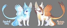 Teacup Dragon Species Sheet by Aeoptera on DeviantArt Cute Fantasy Creatures, Mythical Creatures Art, Mythological Creatures, Cute Creatures, Magical Creatures, Pet Anime, Anime Animals, Pokemon, Fantasy Beasts