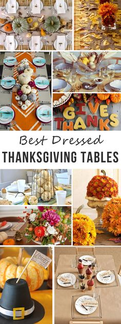 On the blog: Best Dressed Thanksgiving Tables